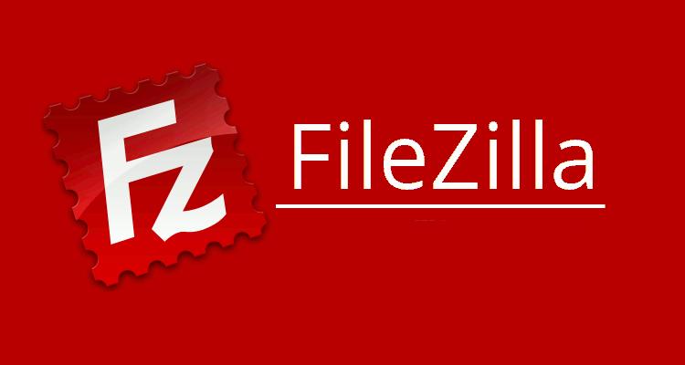 مدیریت اف تی پی با filezilla