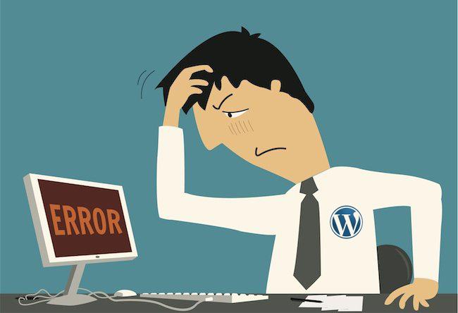 WordPress-Errors