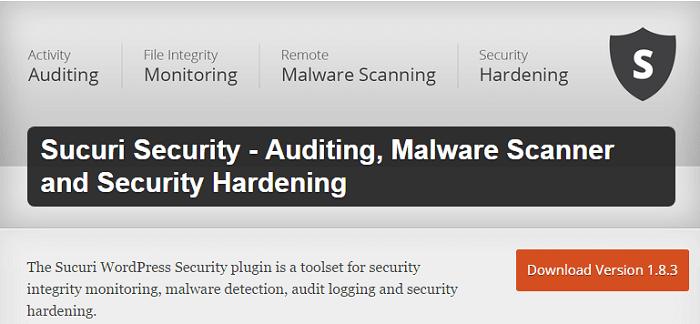 Sucuri - پلاگین های امنیتی وردپرس