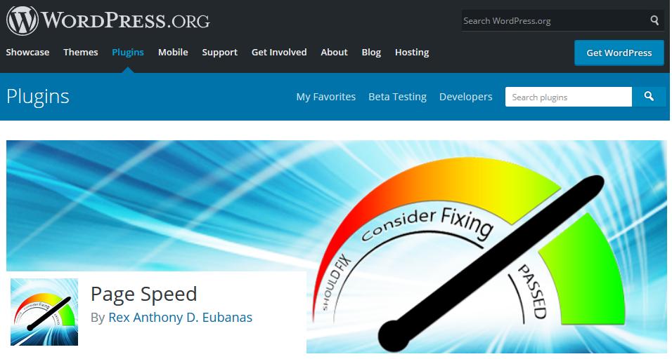 افزایش سرعت سایت - pagespeed plugin