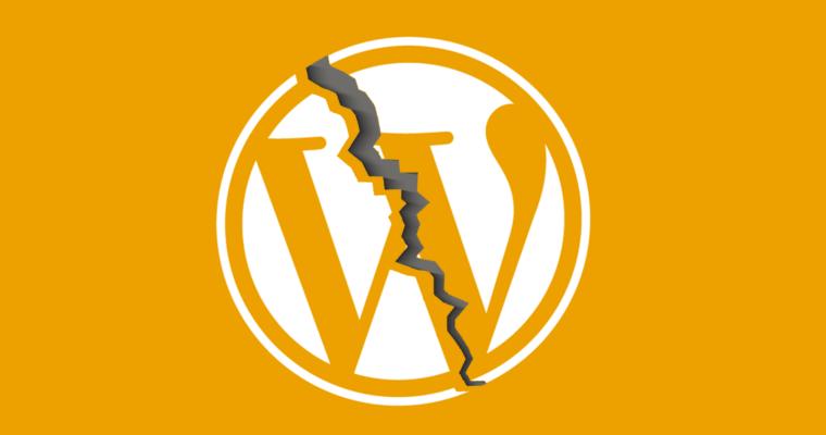 مشکل ورژن ۵٫۵ جدید وردپرس و عدم نمایش سایتها